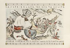 Martin Benka (1888-1971 Lullabies 1946, collection of 9 color lithographs on paper, 28x40 cm