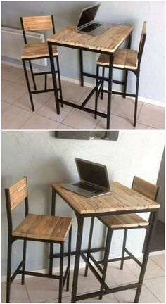 Wooden Pallet Furniture Dazzling Ideas DIY Recycled Wooden Pallet Projects and Concepts with. 50 Motivating Do It Yourself Pallet Ideas Vintage Industrial Furniture, Rustic Furniture, Diy Furniture, Furniture Design, Garden Furniture, Furniture Stores, Furniture Plans, Industrial Shelves, Inexpensive Furniture
