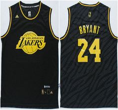 df4ee1a84a6 Los Angeles Lakers Jersey 24 Kobe Bryant 2015 Revolution 30 Swingman Black  With Gold Fashion Jerseys