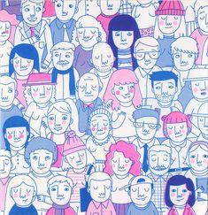 Illustration for Ó! Fanzine on Behance