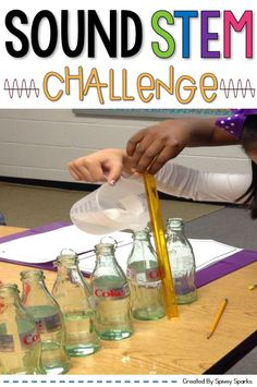 Teachers, as you study light and sound, check out this science stem experiment for kids! This science project gives stud Sound Science, Science Experiments Kids, Science Lessons, Science For Kids, Earth Science, Elementary Science, Elementary Teacher, Kindergarten Classroom, Upper Elementary