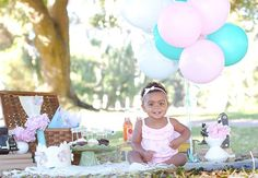 First Birthday Party -- a photo shoot