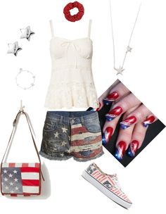 """""""Stars and Stripes"""" by tanya-cochran-sieh on Polyvore"""
