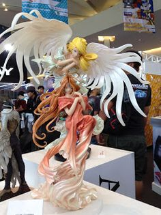 Anime figurine Angels at Thailand Comic Con
