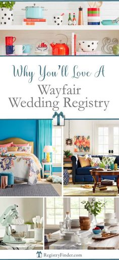 Best Places To Create Your Wedding Gift Registry Part 2 Pinterest