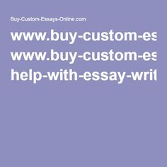 Custom Essay Writing Service Online   MonstersEssay