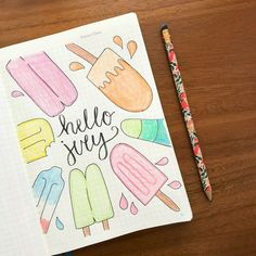 22 Superb July Bullet Journal Cover Ideas To Bullet Journal Cover Ideas, Bullet Journal Banner, Bullet Journal Aesthetic, Bullet Journal Notebook, Bullet Journal Ideas Pages, Bullet Journal Spread, Journal Covers, Bullet Journal Inspiration, Bullet Journal Month Page