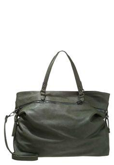 Collezione borse Sisley Autunno Inverno 2016-2017 - Shopper verde militare