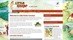 A website for a children's book author/publisher