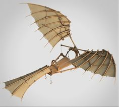 DaVinci crafted flying machine