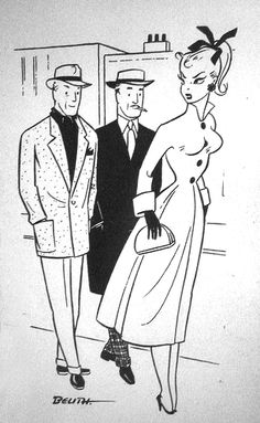 Bild Lilli comic strip;   Four and Twenty