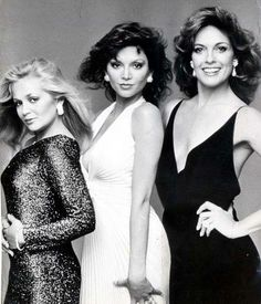 1980's - Dallas - Charlene Tilton, Victoria Principal and Linda Gray