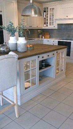 Kitchen Room Design, Kitchen Cabinet Design, Modern Kitchen Design, Home Decor Kitchen, Interior Design Kitchen, Home Kitchens, Kitchen Cabinets, Country Interior Design, Buy Kitchen