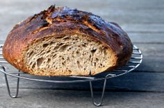 ~ e l r a ~: Double-Fed Sweet Spelt Levain. My first good bread to welcome the sweet and good year of 2013