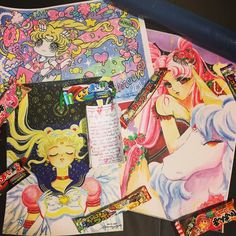 @moonlyt_miko sent me an amazing fan mail with her art prints Japanese candy and a lovely letter about her love of Sailor Moon! I'll be featuring her work along with the other wonderful fan mail items I've received this year in a very special fan mail video! You guys will LOVE hearing about her Sailor Moon journey (it's illustrated!). This video has been a long-time in the works and I know a lot of you are just as excited as I am to see it. Some of my fan mail up until now has been super…