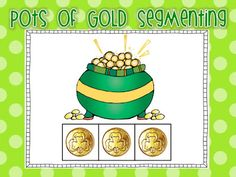 Pots of Gold Segmenting FREEBIE!