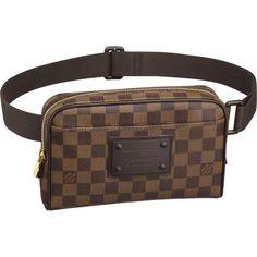 455ba94840e Cheap LV Bum Bag Brooklyn Damier Ebene Canvas N41101 Louis Vuitton Mens Bag,  Louis Vuitton