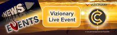 Vizionary live erleben - der nächste Event