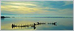 reti in laguna - photo by Maria Cristina Babuder