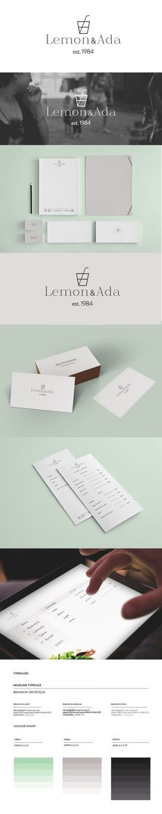 Conceptual branding of Lemoniada by Brandnation (Warsaw, Poland), via Behance