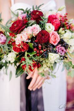 Vibrant fall bouquet: http://www.stylemepretty.com/destination-weddings/2015/08/12/ballerina-autumn-styled-inspiration-shoot/ | Photography: Studio Impressions - http://www.studioimpressions.com.au/