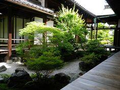 Garden: Shihou-Shomen no Niwa at Kanchi-in, Toji, Kyoto  http://www.toji.or.jp/kanchiin.shtml