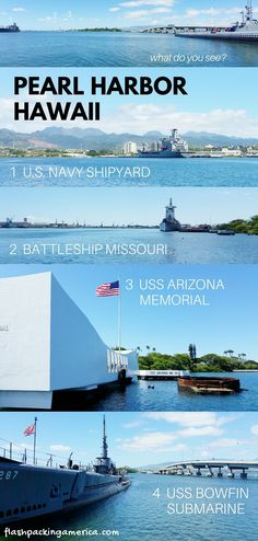 Can you visit Pearl Harbor without a tour? YES but... 🌴⚓ Oahu Hawaii travel blog | Flashpacking America