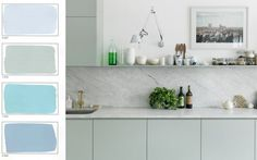 WABI SABI Scandinavia - Design, Art and DIY.: Soft spring colors - blue and grey pastels