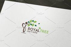 Royal Tree Logo Template by felicidads on @creativemarket