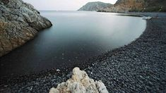 Black Gialos in Chios island, Greece Exotic Beaches, Sandy Beaches, Chios Greece, Places In Greece, Greece Islands, European Travel, Beautiful Beaches, The Good Place, Cool Photos