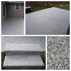 Beautiful decorative concrete coatings in the Findlay, Ohio area.  Patios, porches, sidewalks, steps and more . . .https://decorativeconcretekingdom.wufoo.com/forms/sure-seal-concrete-protection