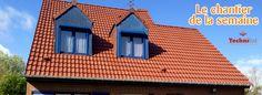 Exemple d'une réalisation Technitoit de rénovation de #toiture en tuiles à #Sailly sur la Lys près de #Béthune #renovation