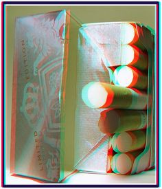 Cigarette anyone? 3D anaglyph red blue (or cyan ) glasses to view   Flickr - Photo Sharing!