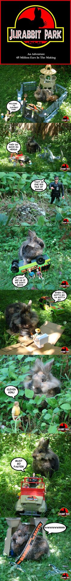 Jurabbit Park by Roger the Grump (via Cute Overload)