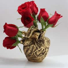 Anatomical heart vase from Blue Bayer Design NYC by billyblue22