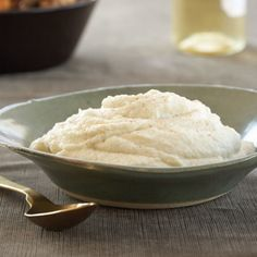 John Besh's Hot, Buttered Cauliflower Puree is silky and luscious. Made with both cream and butter, it's perfectly spiced with cayenne pepper.