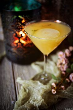Pear Martini Cocktail Recipe