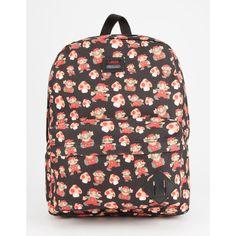 Vans X Nintendo Mario Old Skool Ii Backpack ($28) ❤ liked on Polyvore  featuring