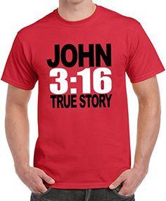 Christian T-Shirt - John 3:16 True Story 18A73-Red Small Classic Teaze http://www.amazon.com/dp/B00HM7QR8S/ref=cm_sw_r_pi_dp_WYcEvb1C29V5G