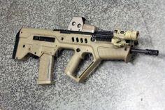 FDE Tavor with EOTech 553 Tan and Surefire M720V #guns #tactical #ar15