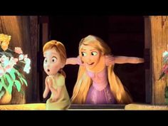 Anna and Rapunzel - When somebody loved me (A Sister's story) - YouTube