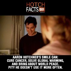 It makes me so happy when he smiles but after Haley died he hardly ever smiled