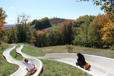 Did we mention the marvelous views? Be sure to take a look around as you zoom toward the bottom of the hill. This is Northern Michigan at its finest!