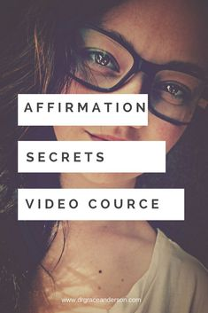 AFFIRMATION SECRETS VIDEO COURSE Self Development Courses, Personal Development, Success Coach, Achieve Success, Helping People, The Secret, Affirmations, Writer, Relationship