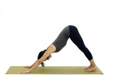 Work on Your Flexibility with These 4 Yoga Poses to Prevent Back Pain: Downward Facing Dog - Adho Mukha Svanasana