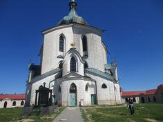 Kostel sv. Jana Nepomuckého Zelená hora - Žďár nad Sázavou - kraj Vysočina