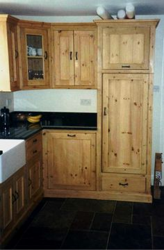 Pine Kitchen Cabinets Land 39 S End And Rustic Kitchen Cabinets