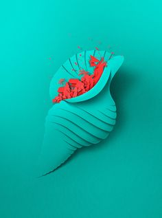 Colorful Poster Series Mimicking Cut Paper for Wellington City Council Summer Series by Eiko Ojala   Click through for full post! #digital #illustration