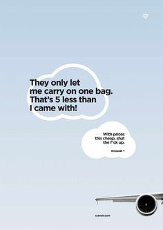 Haha, this is great. More ads should be this honest.