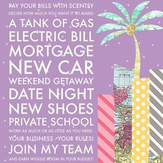 Why wouldn't you join?! #extramoney #paybills #bagleyscentsy www.bagley.scentsy.us